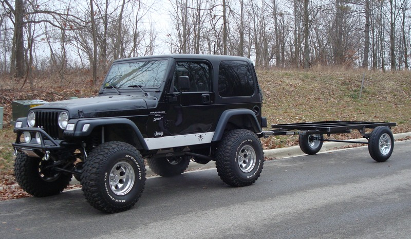 Frame Height And Track Width Match The Jeep.
